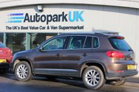 USED 2012 61 VOLKSWAGEN TIGUAN 2.0 SE TDI BLUEMOTION TECHNOLOGY 4MOTION 5d 138 BHP LOW DEPOSIT OR NO DEPOSIT FINANCE AVAILABLE