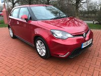 2016 MG 3 1.5 3 FORM SPORT VTI-TECH 5d 106 BHP £5990.00