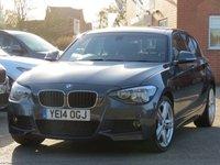 2014 BMW 1 SERIES 2.0 118D M SPORT 5d 141 BHP £11745.00