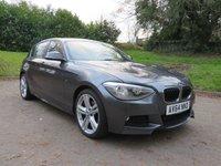 2014 BMW 1 SERIES 2.0 120D M SPORT 5d 181 BHP £13490.00