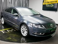 USED 2012 62 VOLKSWAGEN CC 2.0 GT TDI BLUEMOTION TECHNOLOGY 4d 138 BHP £0 DEPOSIT FINANCE AVAILABLE, ADAPTIVE CHASSIS CONTROL, AIR CONDITIONING, AUX INPUT, BLUEMOTION TECHNOLOGY, BLUETOOTH CONNECTIVITY, CLIMATE CONTROL, CRUISE CONTROL, DAB RADIO, ELECTRONIC PARKING BRAKE, FULL LEATHER UPHOLSTERY, HEATED SEATS, PARKING SENSORS, SATELLITE NAVIGATION, START/STOP SYSTEM, STEERING WHEEL CONTROLS, TRIP COMPUTER
