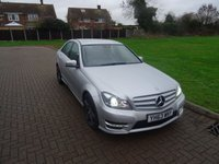 USED 2013 63 MERCEDES-BENZ C CLASS 2.1 C220 CDI BLUEEFFICIENCY AMG SPORT PLUS 4d AUTO 168 BHP
