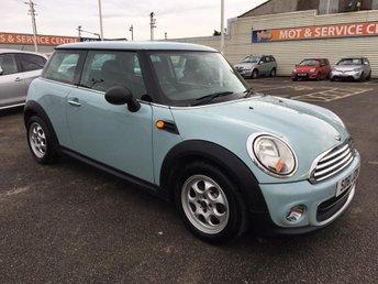 2011 MINI HATCH ONE 1.6 ONE 3d 98 BHP £5495.00