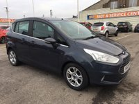 USED 2013 13 FORD B-MAX 1.5 ZETEC TDCI 5d 74 BHP GOT A POOR CREDIT HISTORY * DON'T WORRY * WE CAN HELP * APPLY NOW *