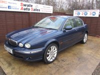 USED 2003 03 JAGUAR X-TYPE 2.1 V6 4d 157 BHP FINANCE AVAILABLE FROM £21 PER WEEK OVER TWO YEARS - SEE FINANCE LINK FOR DETAILS