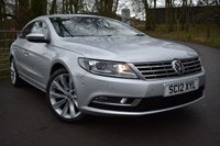 2012 VOLKSWAGEN CC 2.0 GT TDI BLUEMOTION TECHNOLOGY 4d 138 BHP £6750.00