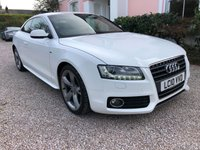 2010 AUDI A5 2.0 TFSI S LINE SPECIAL EDITION 2d 178 BHP £8495.00