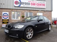 USED 2005 55 BMW 3 SERIES 2.0 318I M SPORT 4d 128 BHP FULL BLACK LEATHER, M SPORT!