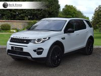USED 2017 17 LAND ROVER DISCOVERY SPORT 2.0 TD4 HSE 5d AUTO 180 BHP 2017 MODEL YEAR VAT QUALIFYING VAT QUALIFYING  BLACK PACK