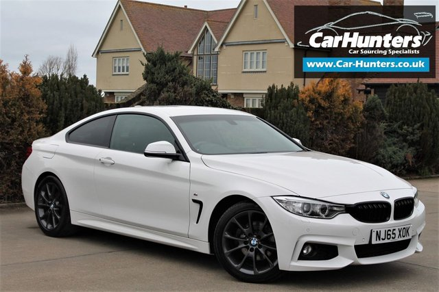 2015 65 BMW 4 SERIES 2.0 420D M SPORT 2d AUTO 188 BHP