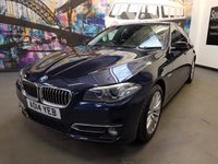 2014 BMW 5 SERIES 2.0 520D LUXURY 4d 181 BHP £13994.00