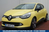USED 2014 64 RENAULT CLIO 1.5 DYNAMIQUE S MEDIANAV ENERGY DCI S/S 5d 90 BHP £30 PER YEAR ROAD TAX