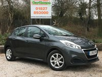 USED 2016 16 PEUGEOT 208 1.0 ACTIVE PureTech 5dr £20 Road Tax, Cruise, PDC
