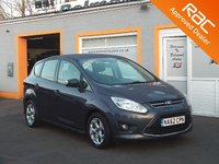 USED 2012 62 FORD C-MAX 1.6 ZETEC TDCI 5d 114 BHP Low mileage, 3 Service Stamps, Previously sold by us, RAC Inspected