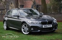 USED 2016 16 BMW 1 SERIES 118i [1.5] M SPORT [NAV] 3 DOOR HATCHBACK