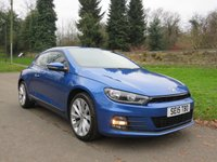 USED 2015 15 VOLKSWAGEN SCIROCCO 2.0 GT TDI BLUEMOTION TECHNOLOGY 2d 150 BHP FROM £55 A WEEK, NO DEPOSIT!