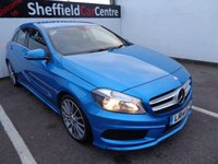 USED 2014 14 MERCEDES-BENZ A CLASS 1.5 A180 CDI BLUEEFFICIENCY AMG SPORT 5d 109 BHP £304  MONTH A MONTH BLUETOOTH SATELLITE NAVIGATION HALF LEATHER CRUISE CONTROL SUPPLIED WITH FULL MOT