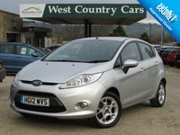 USED 2012 12 FORD FIESTA 1.2 ZETEC 5d 81 BHP Only 2 Owners From New