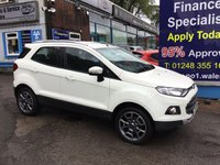 2015 FORD ECOSPORT 1.5 TITANIUM TDCI 5d 89 BHP, only 19000 miles, 1 Owner