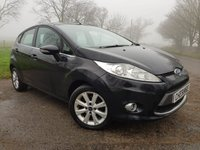 2011 FORD FIESTA 1.6 ZETEC TDCI 5d + 1 FORMER KEEPER + SERVICE HISTORY £3150.00