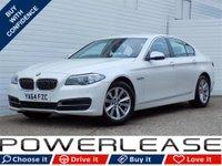 USED 2015 64 BMW 5 SERIES 2.0 518D SE 4d 148 BHP SAT NAV DAB HEATED SEATS FSH
