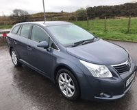 USED 2009 59 TOYOTA AVENSIS 2.0 D-4D TR 5dr ESTATE 125 BHP 6 MONTHS PARTS+ LABOUR WARRANTY+AA COVER