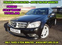 2010 MERCEDES-BENZ C CLASS 2.1 C220 CDI BLUEEFFICIENCY SPORT 4d 170 BHP £6350.00