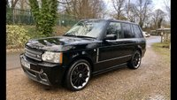 2008 LAND ROVER RANGE ROVER 3.6 TDV8 VOGUE 5d AUTO OVERFINCH,STUNNING LOOKS, FULLY LOADED,FSH, £SOLD