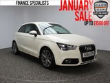 USED 2011 60 AUDI A1 1.4 TFSI SPORT 3DR 122 BHP SERVICE HISTORY + BLUETOOTH + MULTI FUNCTION WHEEL + RADIO/CD/AUX + AIR CONDITIONING + ELECTRIC WINDOWS + 17 INCH ALLOY WHEELS