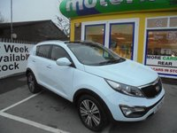 USED 2015 65 KIA SPORTAGE 1.7 CRDI 3 ISG 5d 114 BHP ** JUST ARRIVED ** MPV ** PANORAMIC ROOF **