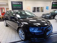 USED 2011 60 AUDI A3 2.0 SPORTBACK TDI SPORT 5d 138 BHP JAN 2020 MOT + CD RADIO + LOW CAR TAX ( £30) ELECTRIC FRONT WINDOWS + ALLOYS + 1 PRIVATE OWNER + DRIVERS INFORMATION SYSTEM