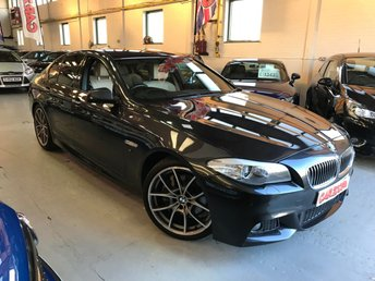 2013 BMW 5 SERIES 3.0 535D M SPORT 4d AUTO 309 BHP £19495.00