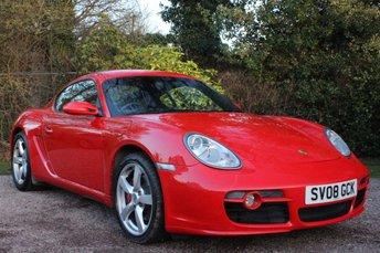 2008 PORSCHE CAYMAN 3.4 24V S 2d 295 BHP £14000.00