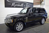 USED 2010 60 LAND ROVER RANGE ROVER 3.6 TDV8 VOGUE SE 5d AUTO 271 BHP STUNNING VALUE VOGUE SE - 8 STAMPS TO 116K MILES - NAV - TV - DUAL VIEW - PRIVACY - 20 INCH ALLOYS