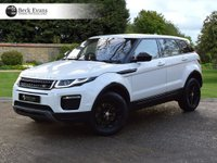 USED 2017 17 LAND ROVER RANGE ROVER EVOQUE 2.0 TD4 SE TECH 5d AUTO 177 BHP VAT QUALIFYING VAT QUALIFYING  BLACK PACK