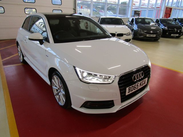 View our 2015 15 AUDI A1 1.6 TDI S-LINE 3d