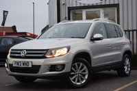 USED 2013 13 VOLKSWAGEN TIGUAN 2.0 SE TDI BLUEMOTION TECHNOLOGY 5d 138 BHP Full Service History With 4 Stamps.With New Mot.