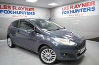 USED 2014 14 FORD FIESTA 1.5 TITANIUM TDCI 3d 74 BHP Free Road Tax, DAB Radio, Bluetooth, Privacy glass
