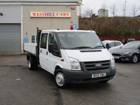 2012 FORD TRANSIT 2.4 350 DRW 1d 115 BHP £9450.00