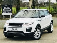 USED 2016 16 LAND ROVER RANGE ROVER EVOQUE 2.0 ED4 SE TECH 5d 148 BHP Sat Nav, Leather Black - Heated / Electric seats, Front / Rear parking sensors