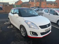 USED 2015 65 SUZUKI SWIFT 1.2 SZ3 5d 94 BHP MANUAL, ONLY 2940 MILES, CHEAP TO RUN , LOW CO2 EMISSIONS(116G/KM), £30 ROAD TAX, AND EXCELLENT FUEL ECONOMY, EXCELLENT SPECIFICATION INCLUDING AIR CONDITIONING, ALLOY WHEELS AND SAT NAV ONLY 2940 MILES FROM NEW!