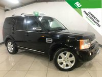 2007 LAND ROVER DISCOVERY 2.7 3 TDV6 HSE 5d AUTO 188 BHP