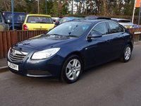 2013 VAUXHALL INSIGNIA 2.0 EXCLUSIV CDTI ECOFLEX S/S 5dr One Owner £5750.00