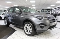 USED 2015 15 LAND ROVER DISCOVERY SPORT 2.2 SD4 HSE AUTO 190 BHP FLRSH PAN ROOF 7 SEATS NAV CAM