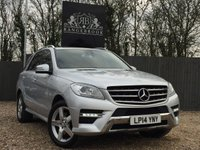 2014 MERCEDES-BENZ M CLASS 2.1 ML250 BLUETEC AMG SPORT 5dr AUTO £20699.00