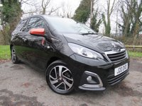 USED 2015 15 PEUGEOT 108 1.2 PURETECH ROLAND GARROS TOP 5d  **RETRACTABLE ROOF**PRIVATE PLATE INCLUDED**