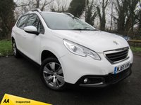 USED 2015 65 PEUGEOT 2008 1.6 BLUE HDI S/S ACTIVE 5d  **1 OWNER FROM NEW**LOW MILES**