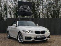 2016 BMW 2 SERIES 1.5 218I M SPORT 2dr £15499.00