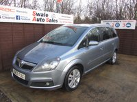 USED 2007 57 VAUXHALL ZAFIRA 1.9 DESIGN CDTI 5d 118 BHP FINANCE AVAILABLE FROM £21 PER WEEK OVER TWO YEARS - SEE FINANCE LINK FOR OPTIONS.
