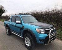 2009 FORD RANGER XLT 4X4 DCB TDCI £7995.00